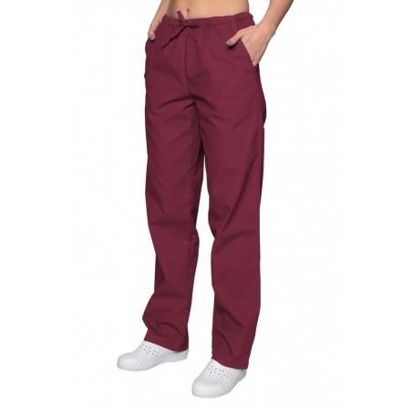 Spodnie chirurgiczne  bordowy