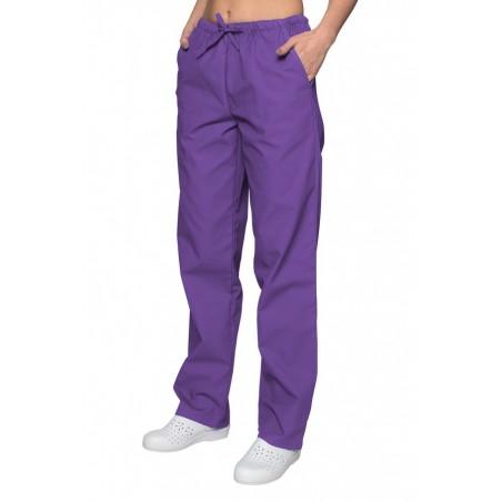 Spodnie chirurgiczne cieny fiolet